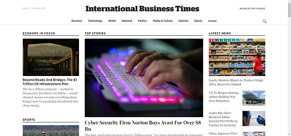 International Business Times pays freelance writers for tech writing gigs
