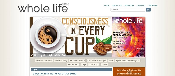 Whole Life Times magazine and blog pay freelance writers for food writing gigs