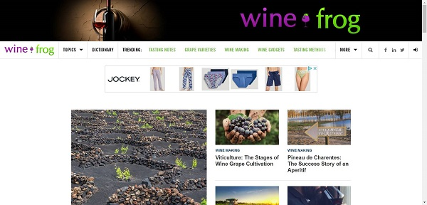 Wine Frog hires writers for freelance wine writing jobs