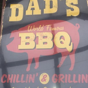 Metal Dads BBQ Sign
