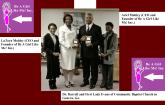 Community Baptist Church donations flyer