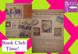 St. John Youth Ministry Newsletter with book sign up