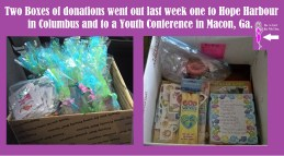 Donations For June 2017