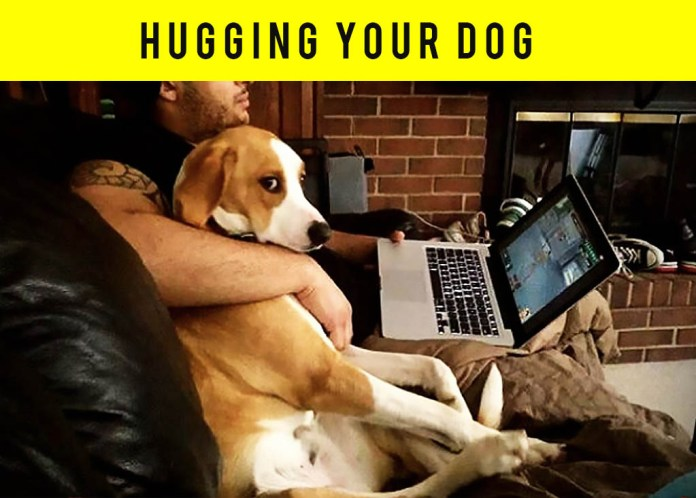 Dogs hate being hugged