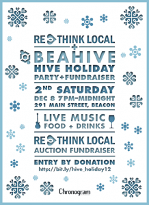HIVE HOLIDAY flyer