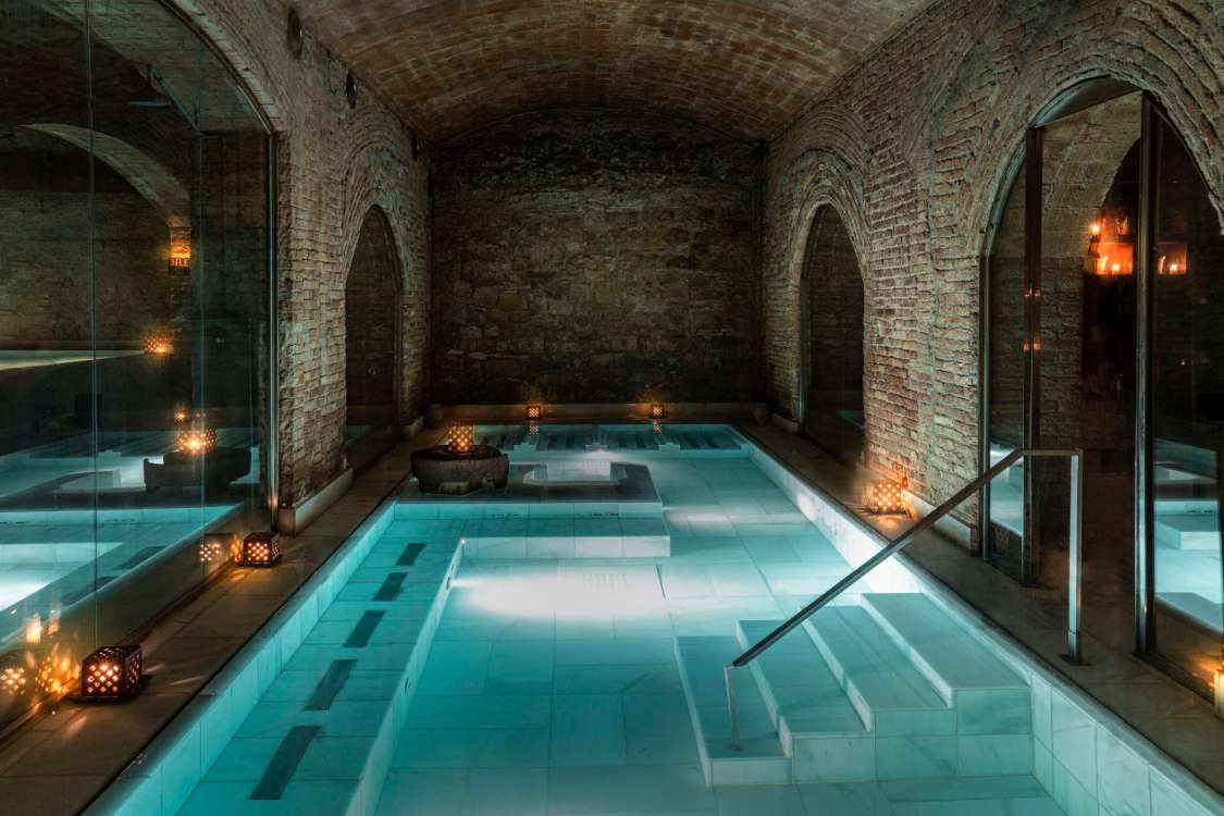 Spots to Visit in Barcelona, Spain: Ancient Baths Barcelona | AIRE Ancient Baths Barcelona