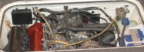 Ook alle sensoren vernieuwd. Ook de slang ts waterpomp en motor.