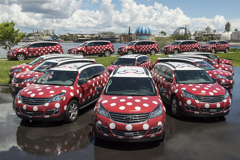 Disney Minnie Van service now available