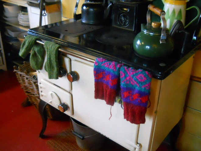 Bealtaine Cottage permaculture kitchen