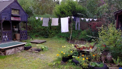 Washing at bealtaine Cottage