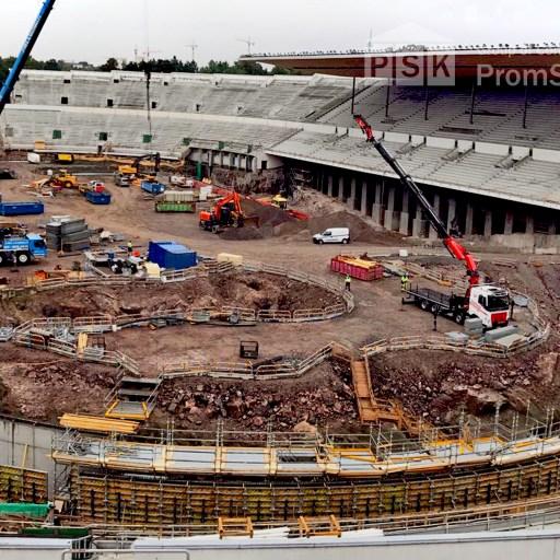 Reconstruction Olympic Stadium