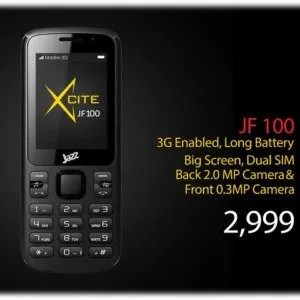 Mobilink Jazz X JF100 Price & Specifications