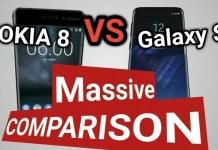 Nokia 8 Vs Samsung Galaxy S8
