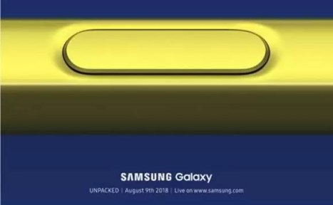 Galaxy Note 9, Samsung Galaxy Note 9 Releasing Date (Design and Features)