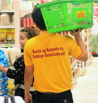 BeamAndGo_ Prince Hypermart staff with Prince tshirt