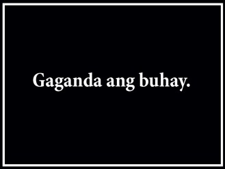Binay slogan