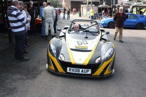 Simon Hamilton, who we last met at Pembrey in the summer, in his Lotus 2-Eleven.