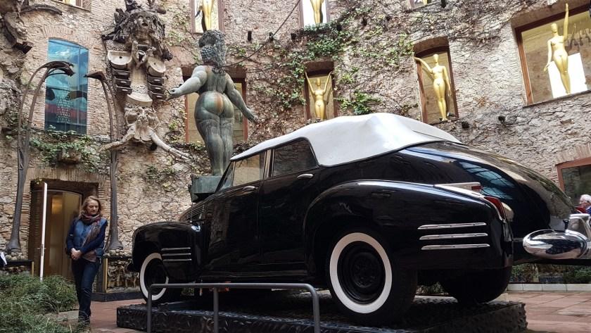 Car at Dali Museum
