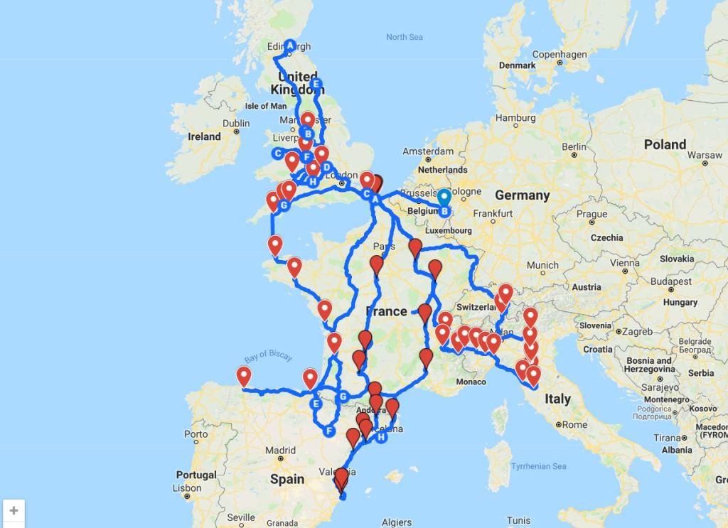 GT86 Map at 60K miles