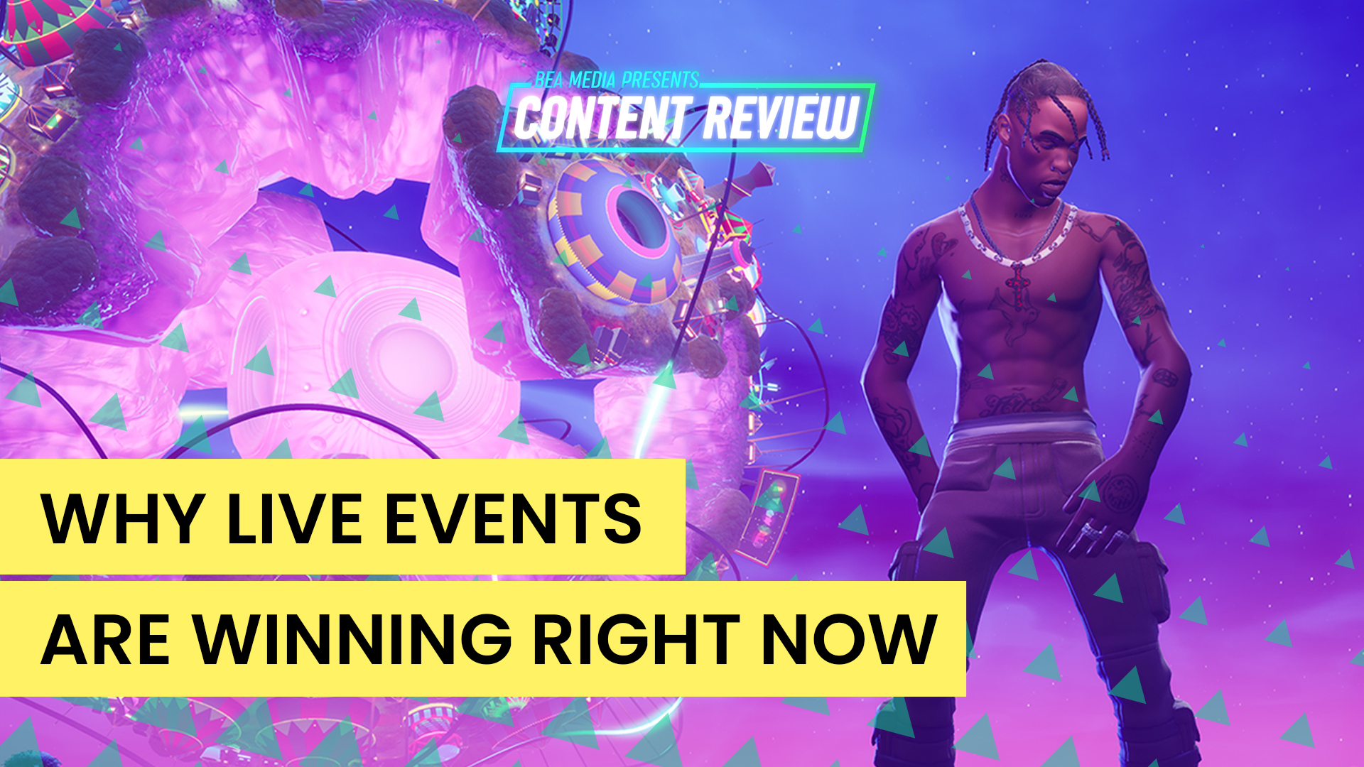 Are Live Events Winning Right Now?