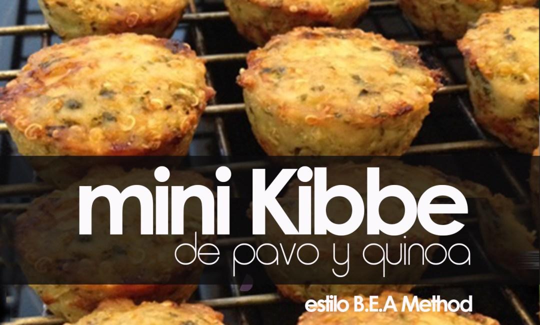 MINI KIBBE DE PAVO Y QUINOA