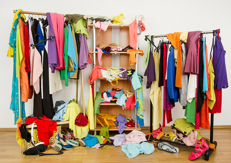 closet-desorden