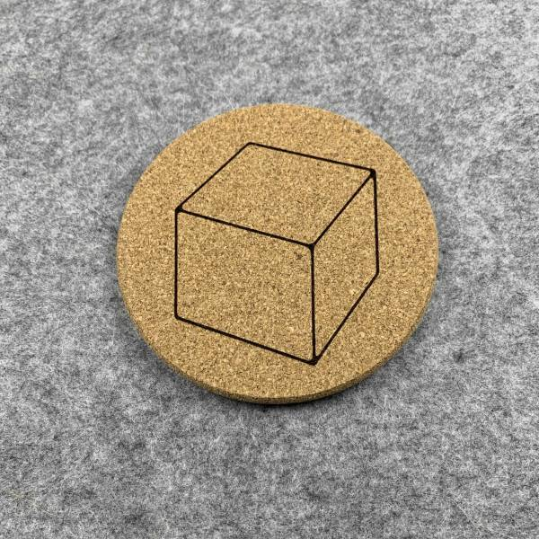 D6 - 6 Sided Dice Coaster