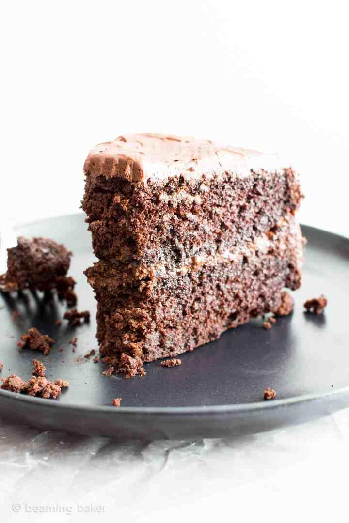 Vegan Chocolate Cake Recipe Gluten Free Dairy V Refined Sugar