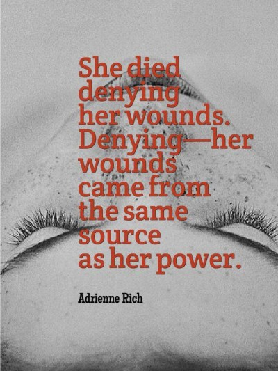 Summary and Analysis of Power by Adrienne Rich