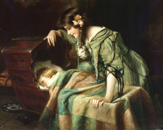 Summary and Analysis of Lullaby by Tennyson