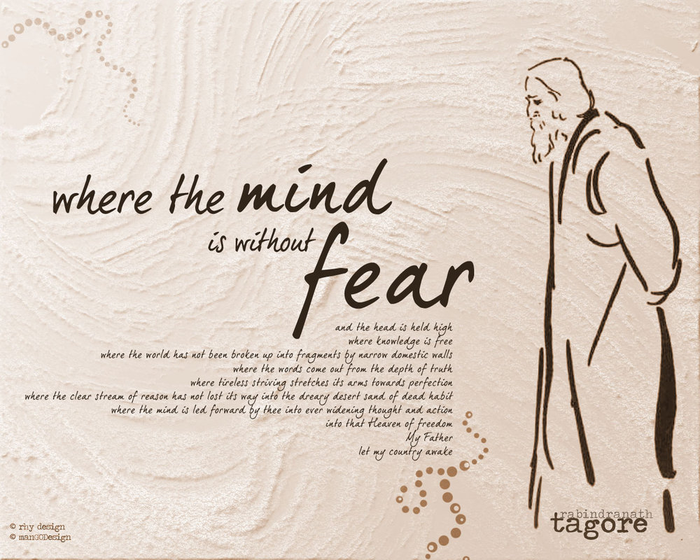 Line by Line Summary of Where the Mind is Without Fear by Tagore