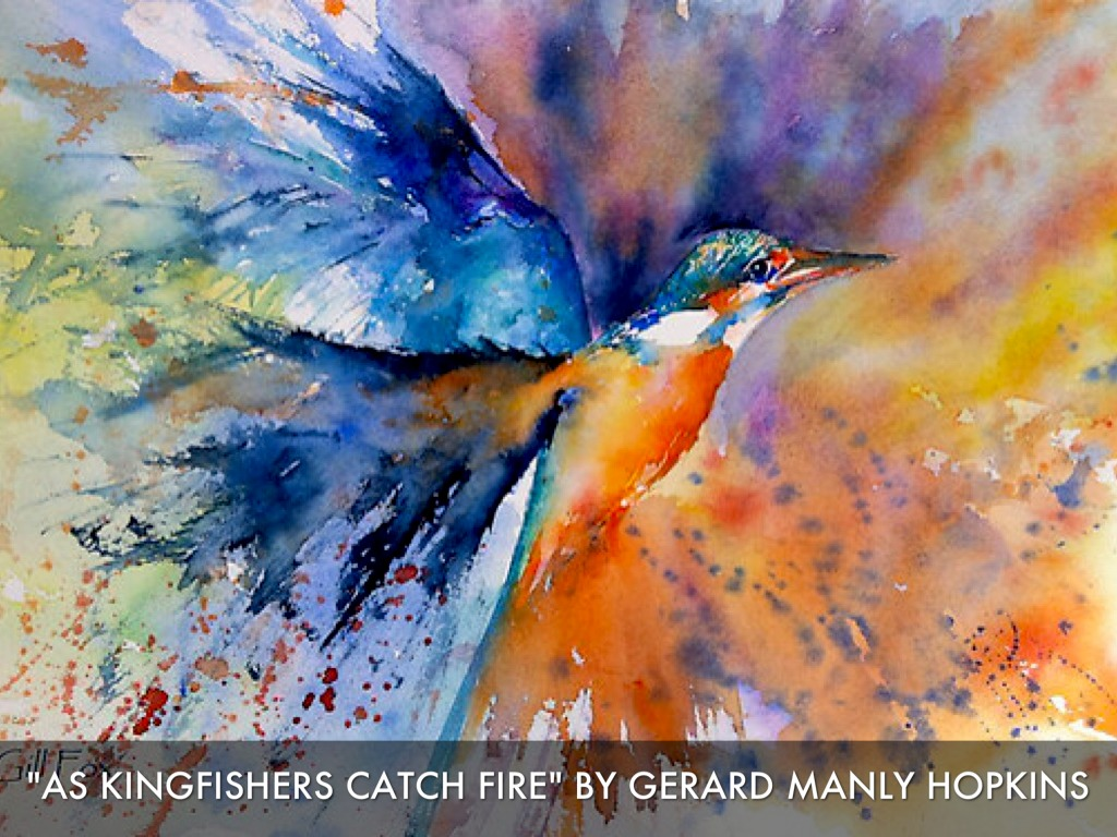 Summary and Analysis of As Kingfishers Catch Fire by G. M. Hopkins