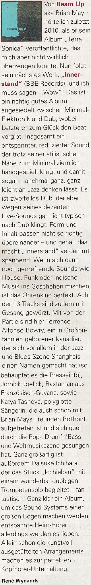 Innerstand-Riddim Magazine May15