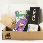 Milk chocolate subscription box