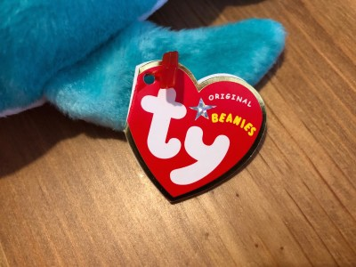 Mystery Beanie Baby Swing Hang Tag
