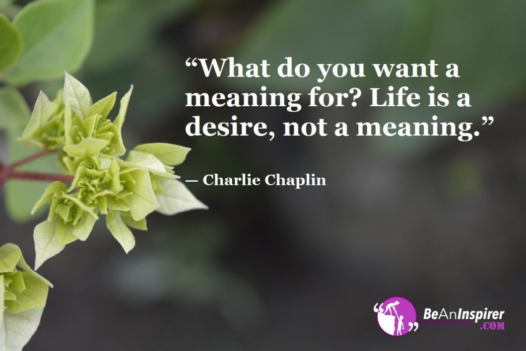 What-do-you-want-a-meaning-for-Life-is-a-desire-not-a-meaning-Charlie-Chaplin-Top-100-Life-Quotes-Be-An-Inspirer