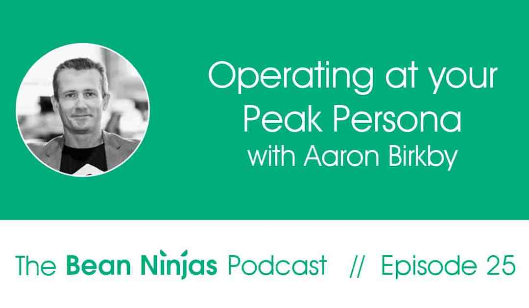 25. Operating at your Peak Persona – Interview with Aaron Birkby