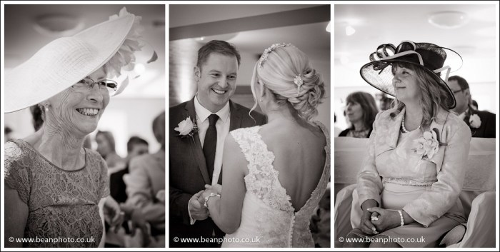 The wedding of Louise and Stuart