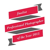 Finalist, professional photographer of the year awards, 2013