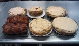 Streusel Coffeecakes and Brioche Feuilletine