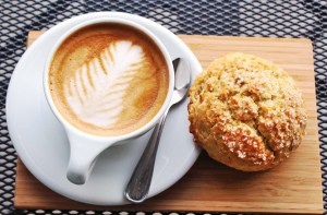 Coffee and Scone