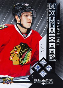 2014-15-NHL-Black-Diamond-Rookie-Redemption-Quad-Gems-Teuvo-Teravainen