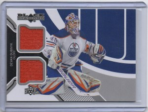 2013-14 Black Diamond Jerseys #EDMDD Devan Dubnyk