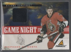 2011-12 Pinnacle Game Night Materials #21 Stephane Da Costa
