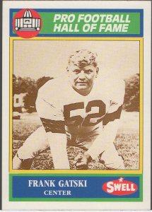 1989 Swell Greats #130 Frank Gatski