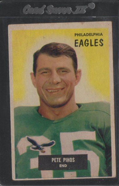 1955 Bowman #10 Pete Pihos