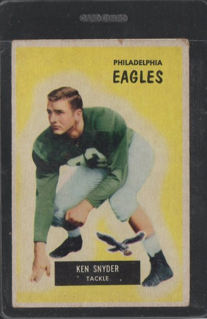 1955 Bowman #63 Kenneth Snyder