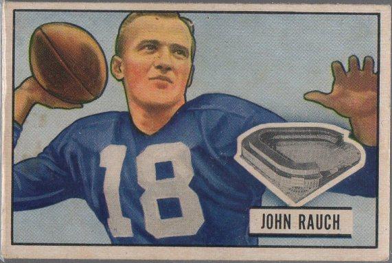 1951 Bowman #44 John Rauch