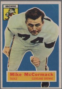 1956 Topps #105 Mike McCormack