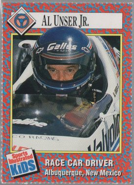 Al Unser Jr. 1989-91 Sports Illustrated for Kids #257